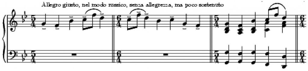Особености на хармонията в клавирното творчество на М. П. Мусоргски
