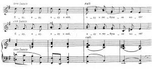 """Пример 5. Пьотр Булахов – """"Тройка"""" – начало на 1-ви и 2-ри куплет"""