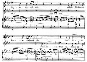 """Пример 7. Феликс Менделсон-Бартолди – """"Aus Psalm 95"""""""